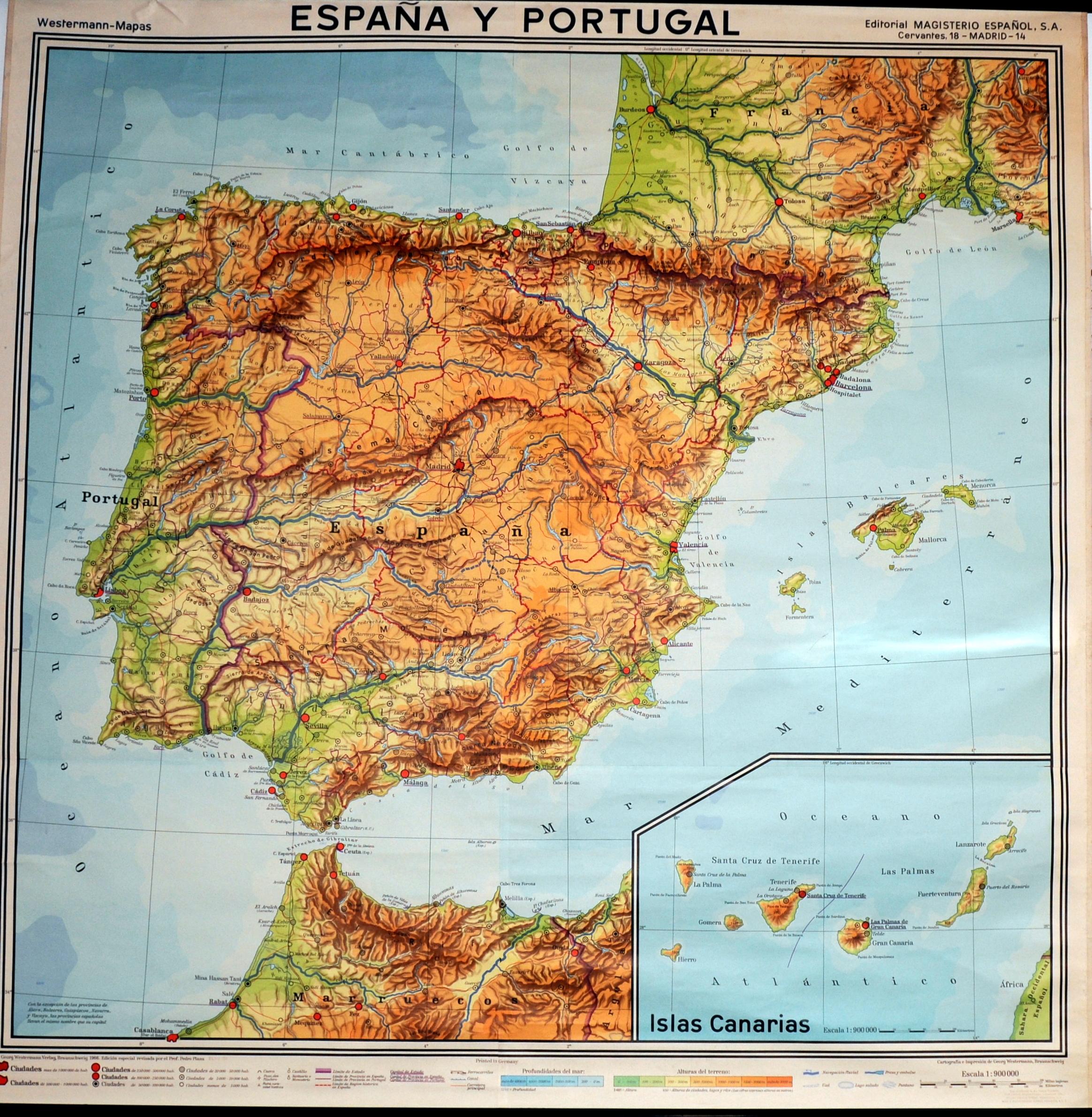 España, Portugal y las Islas Canarias 1966