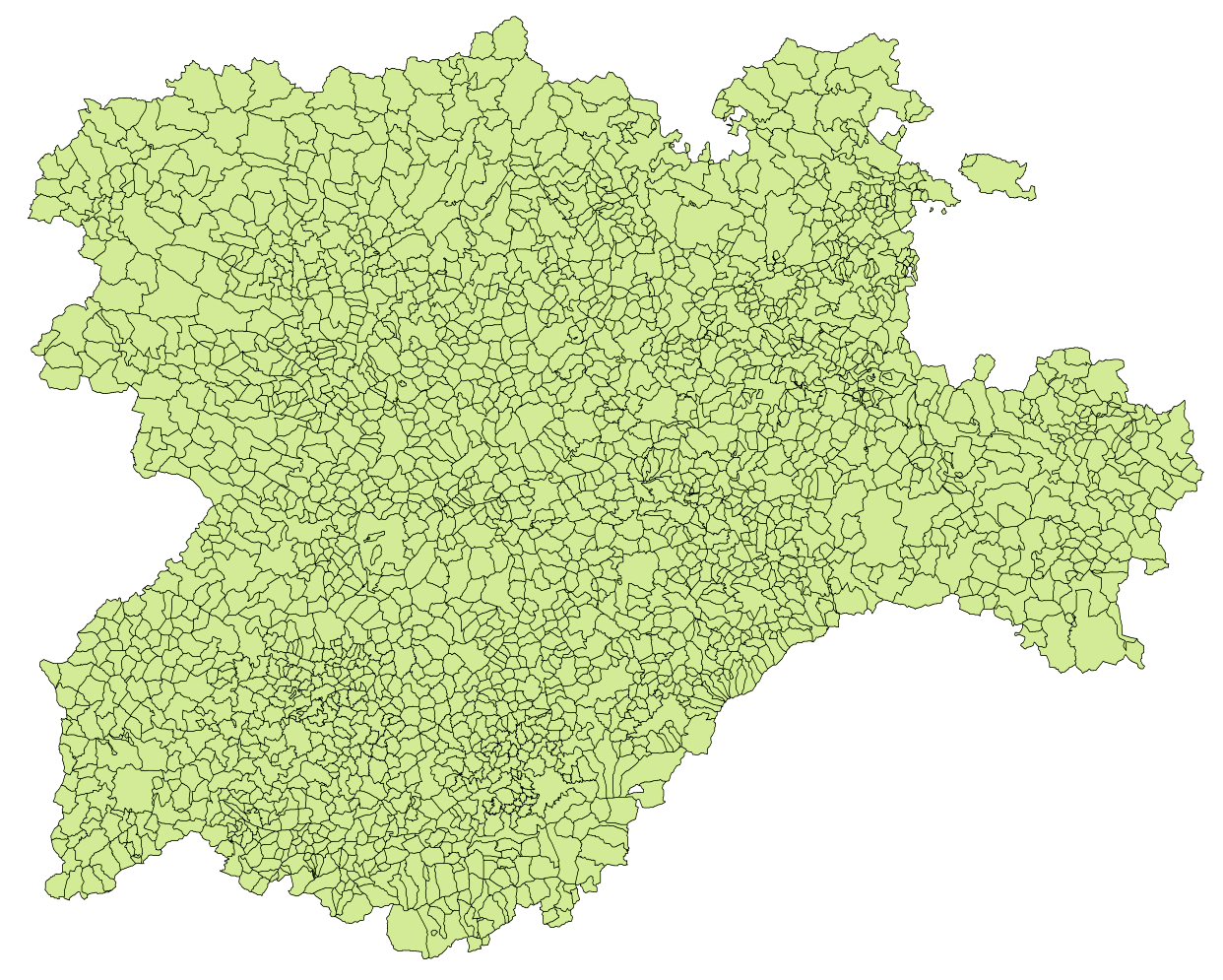 Municipalities of Castile and León 2003