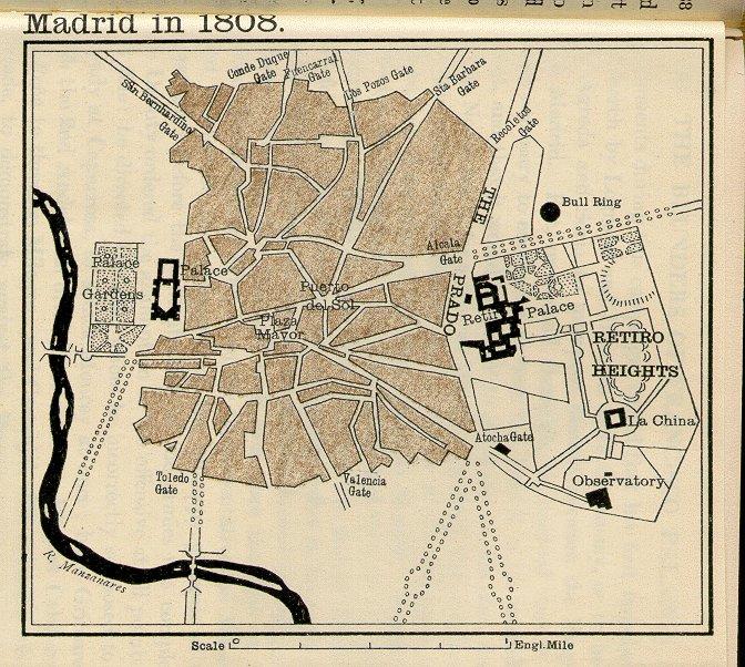 Calles de Madrid en 1808