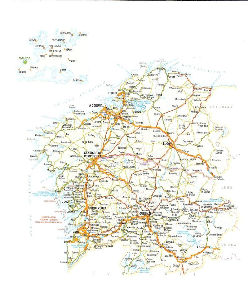 Carreteras de Galicia