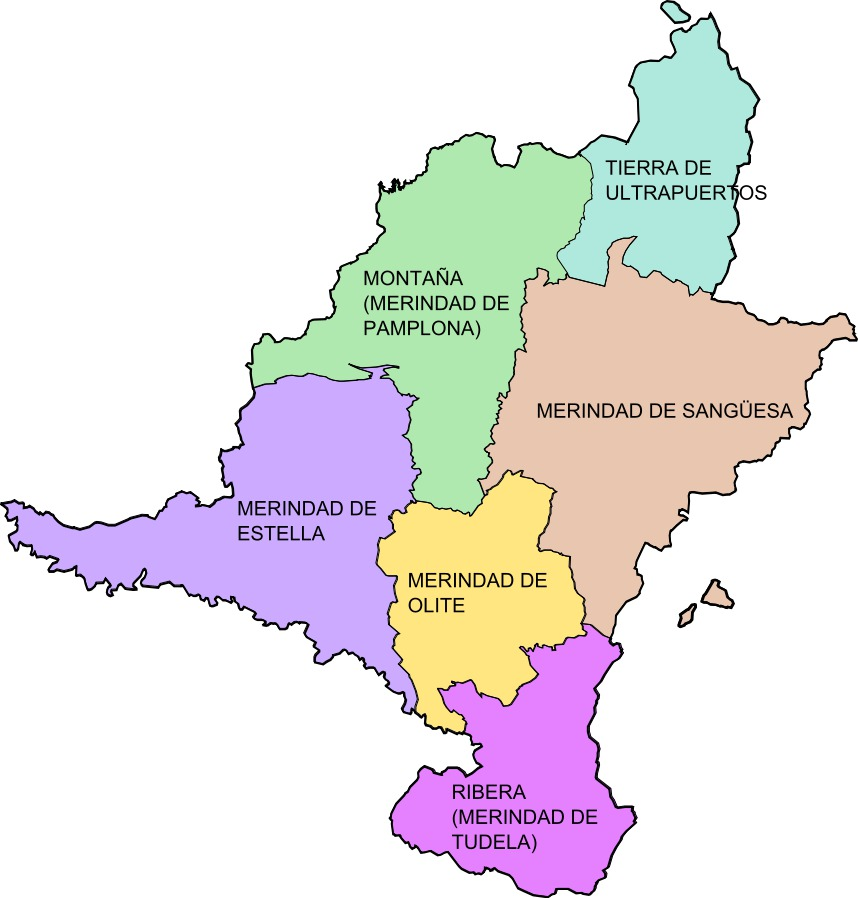 Kingdom of Navarre's Merindades 1407-1463