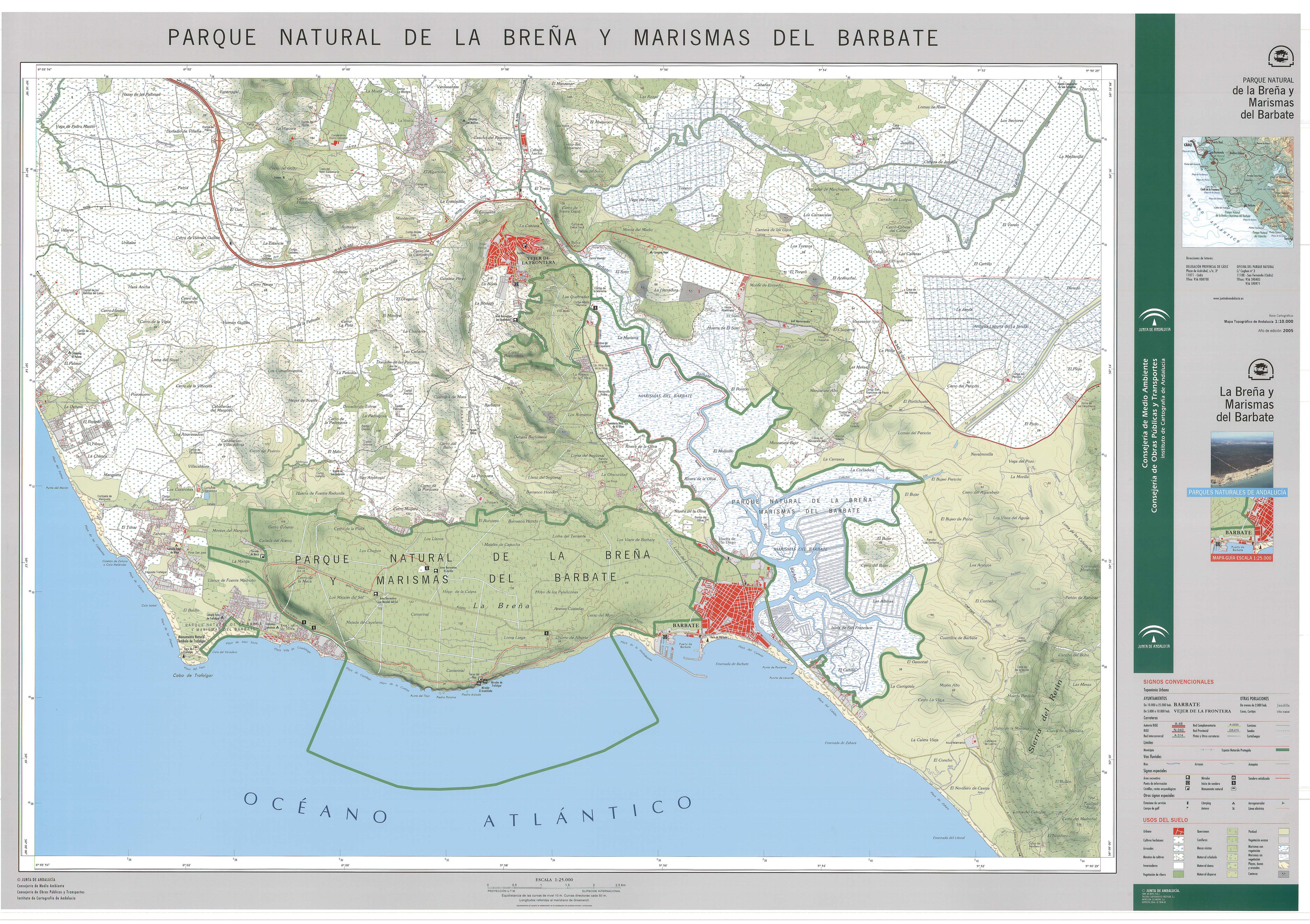La Breña y Marismas del Barbate Natural Park 2005