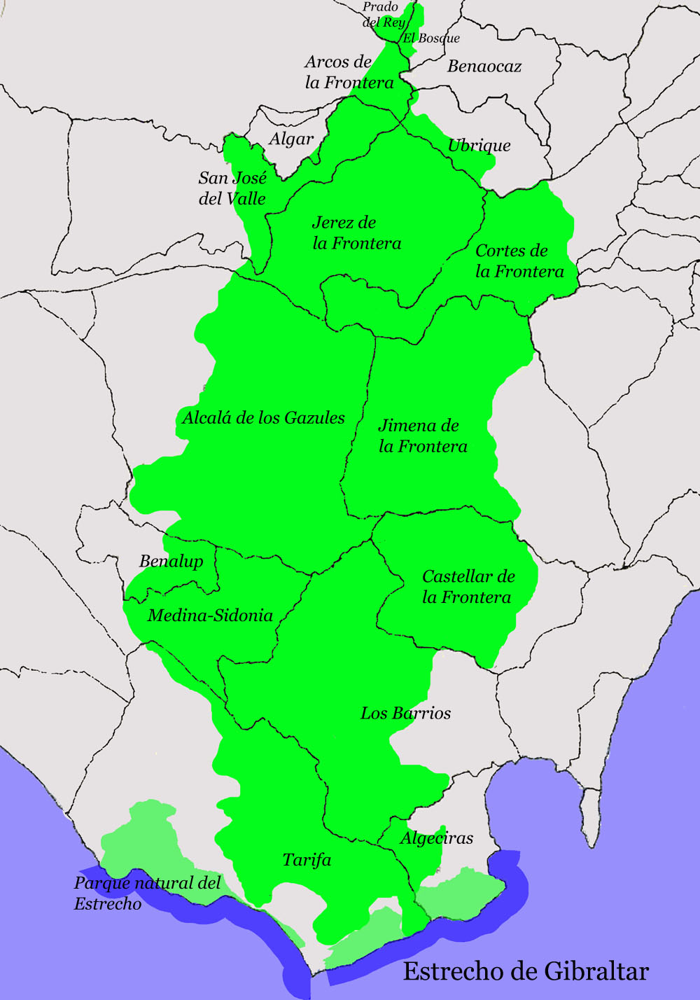 Los Alcornocales Natural Park 2008