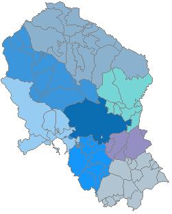 Comarcas de la provincia de Córdoba 2007