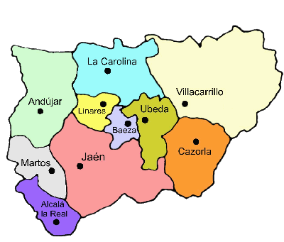 Judicial Parties of the Province of Jaén 2007