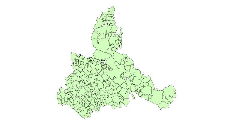 Municipalities of the Province of Zaragoza 2003