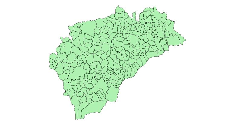 Municipalities of the Province of Segovia 2003