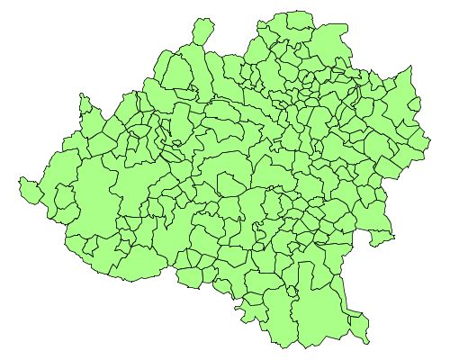 Municipalities of the Province of Soria 2007