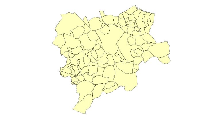Municipalities of the Province of Albacete 2003