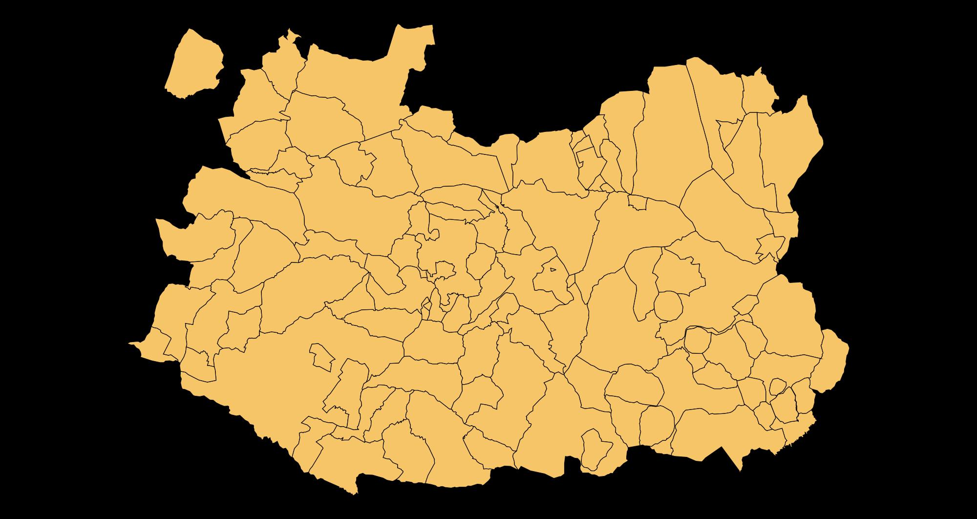Municipios de la Provincia de Ciudad Real 2003