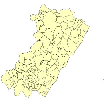 Municipalities of the Province of Castellón 2003