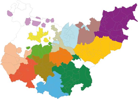 Mancomunidades de la Provincia de Badajoz