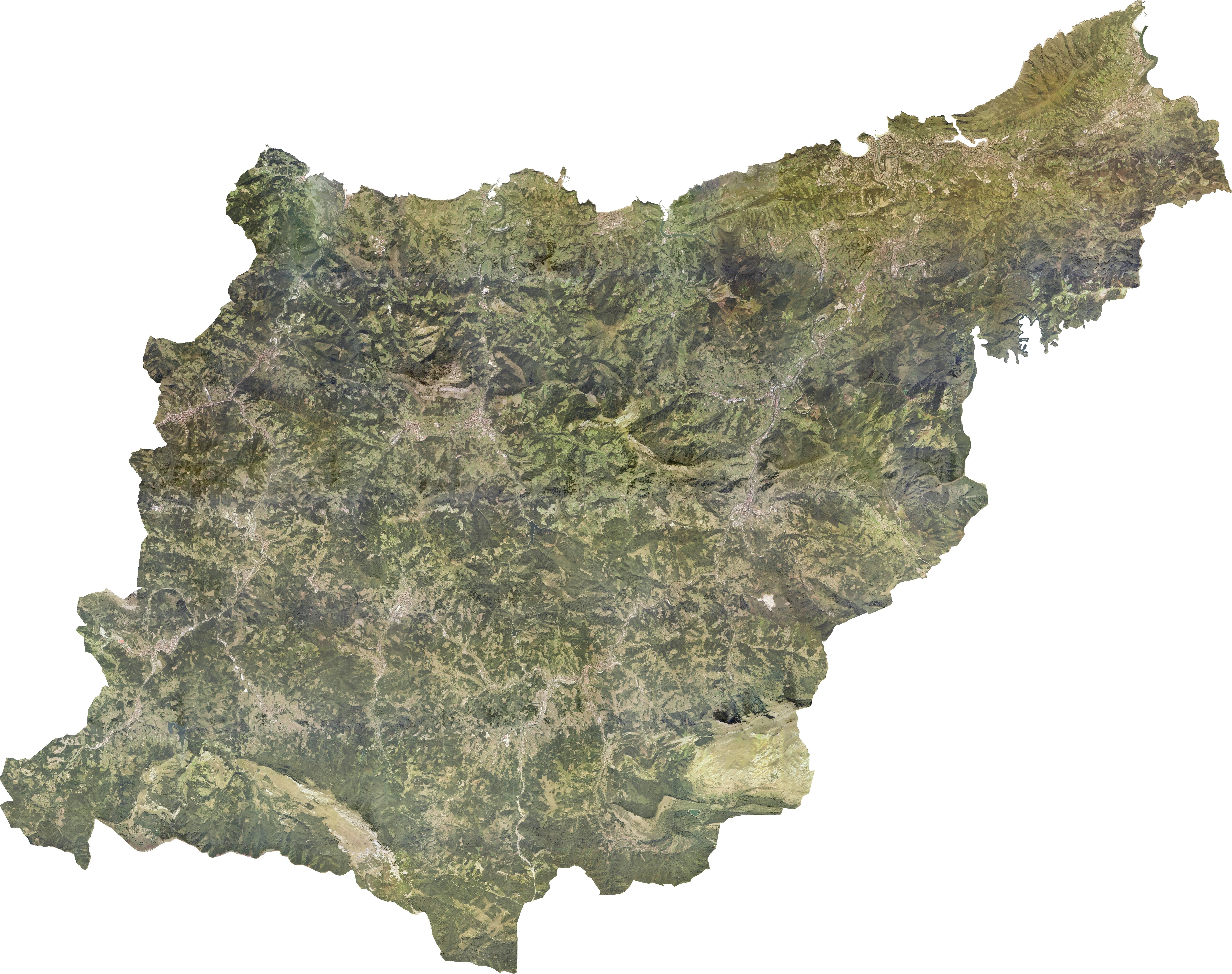 Ortofoto de Guipúzcoa 2009