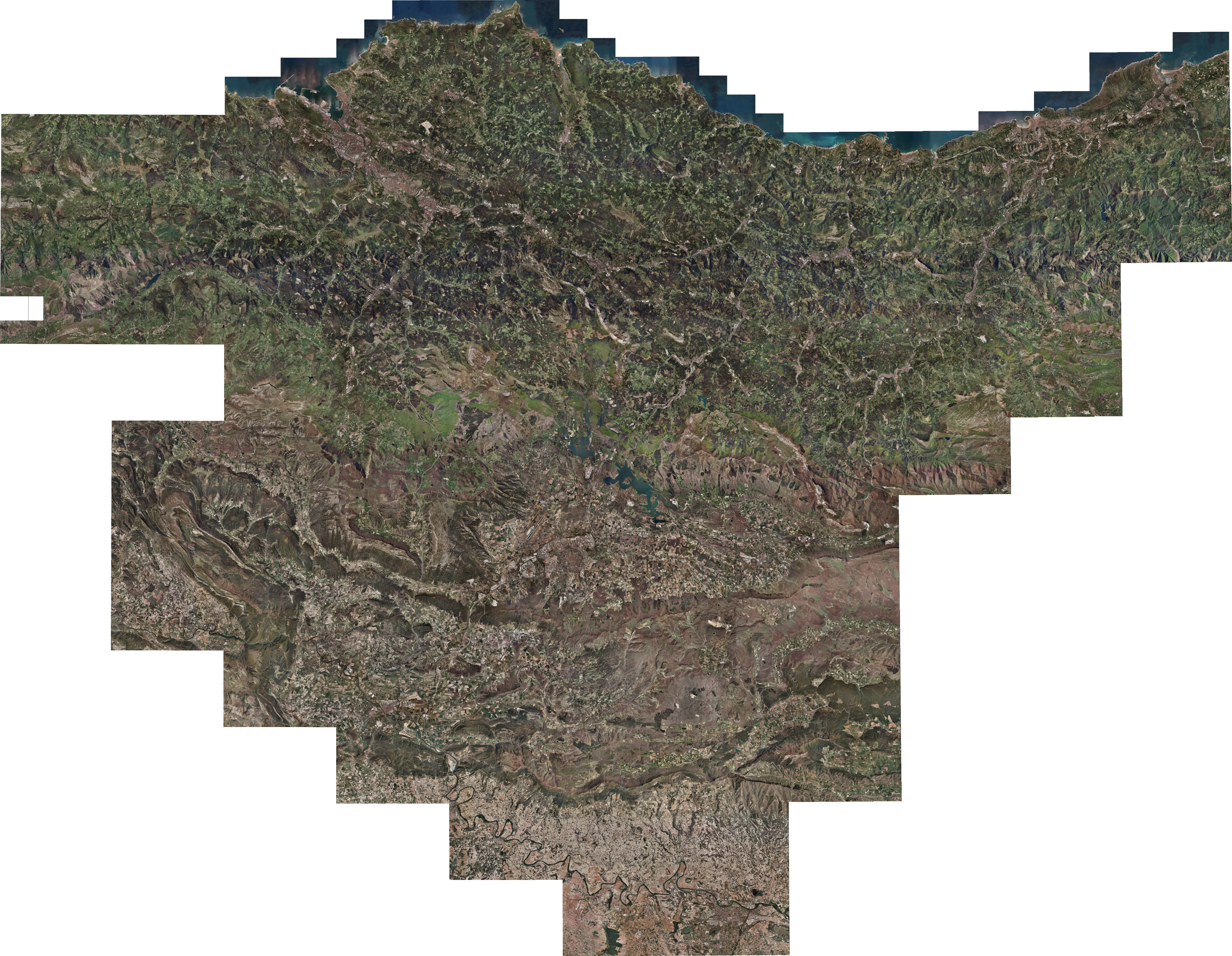 Orthophoto of the Basque Country 2009