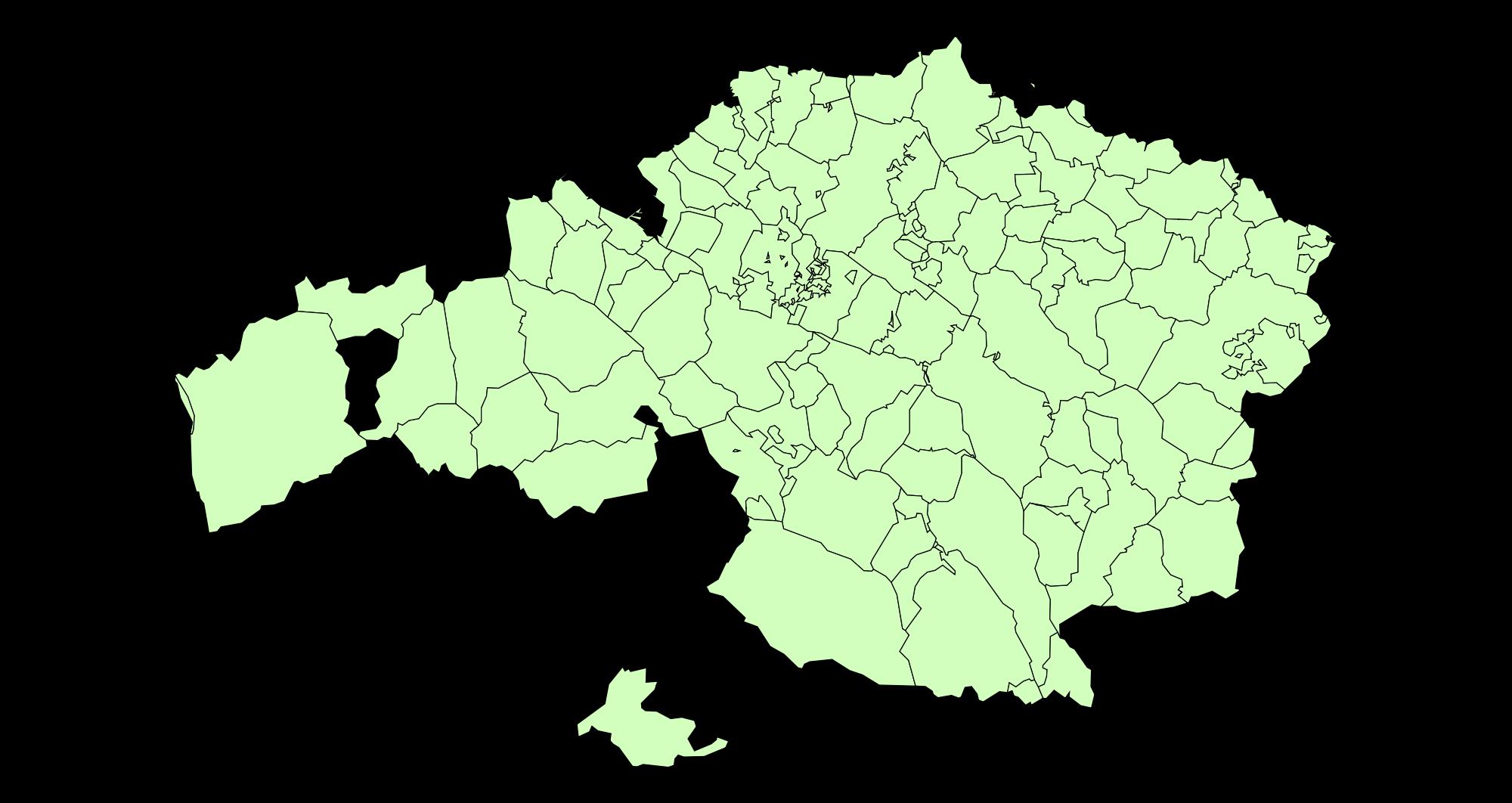Municipios de Vizcaya 2003