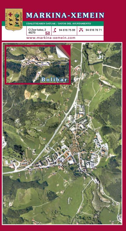 Orthophoto of Markina-Xemein 2004