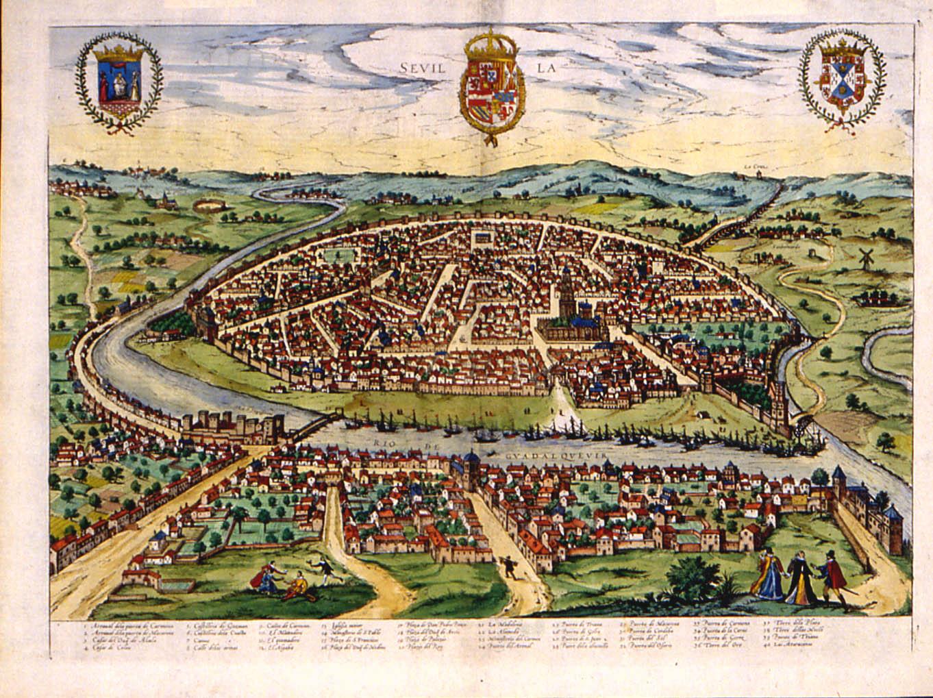 Seville circa 1588