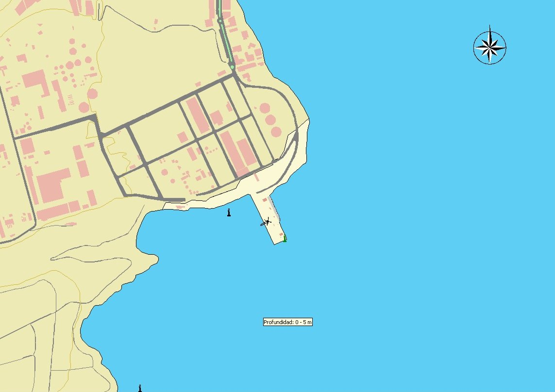 Puerto de Salinetas port map