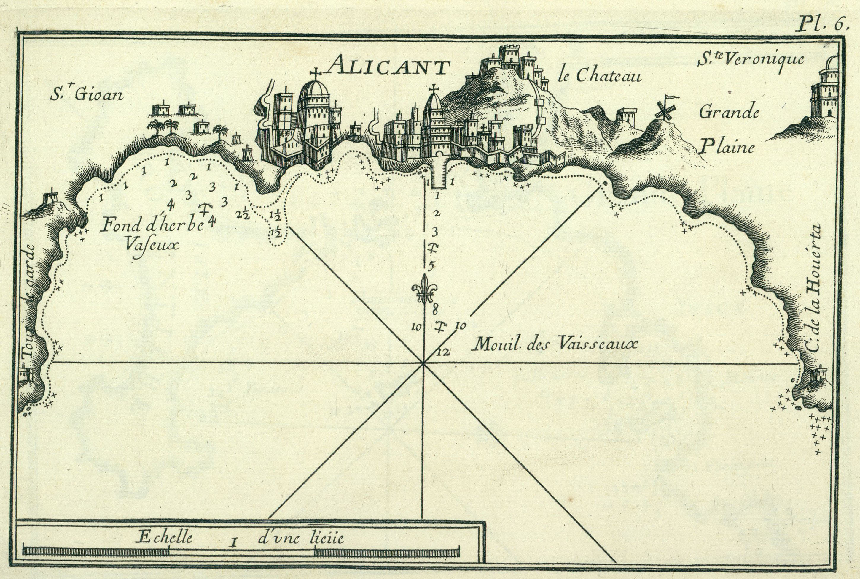 Alicante in 1764