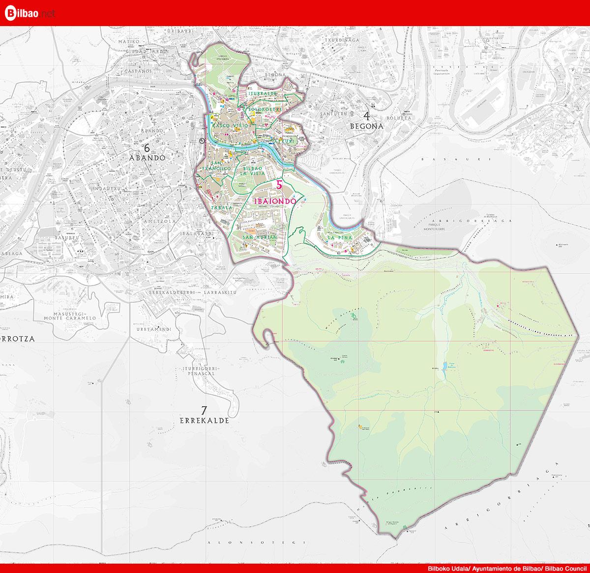 Distrito de Ibaiondo