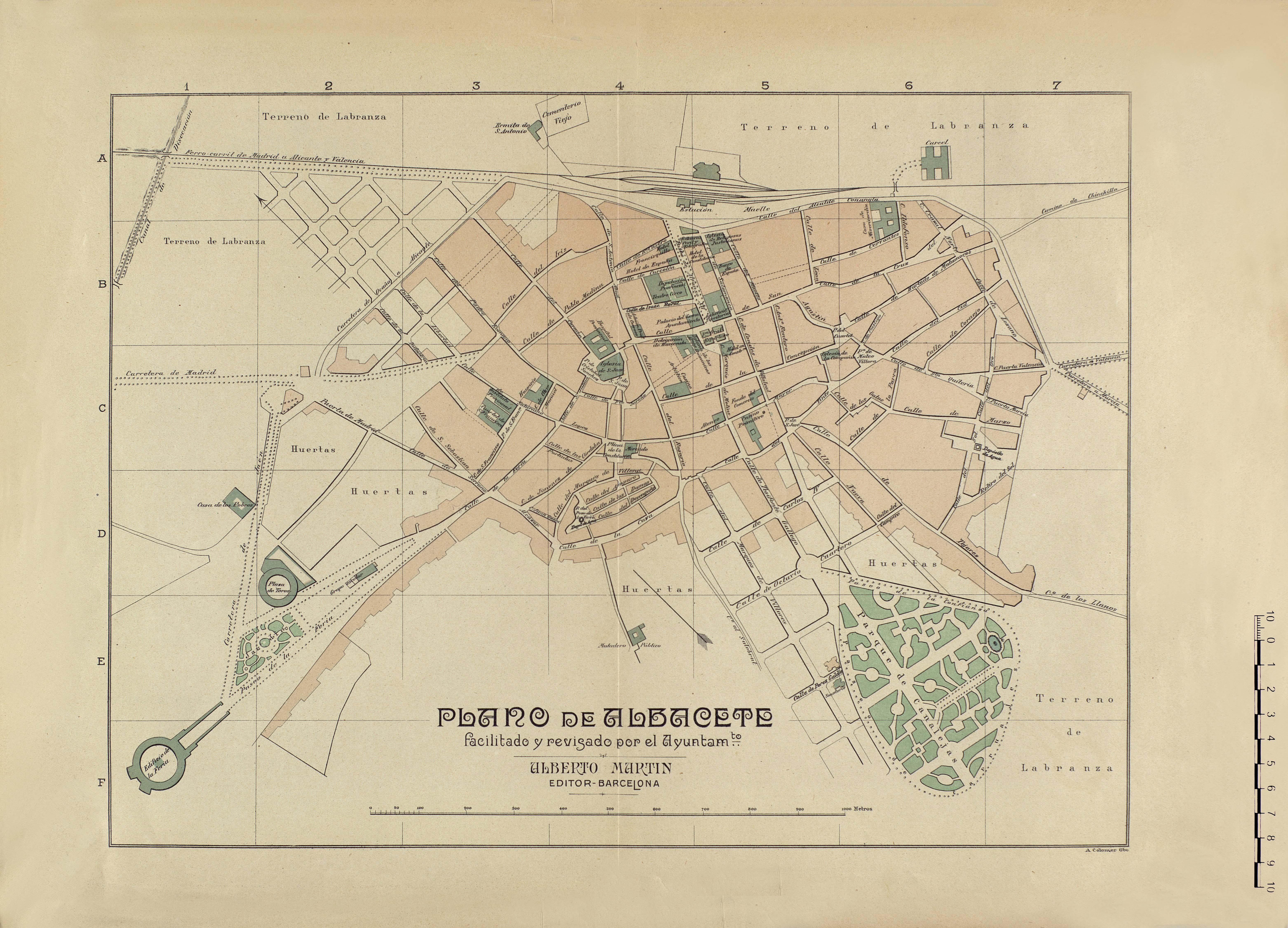 Plano de Albacete