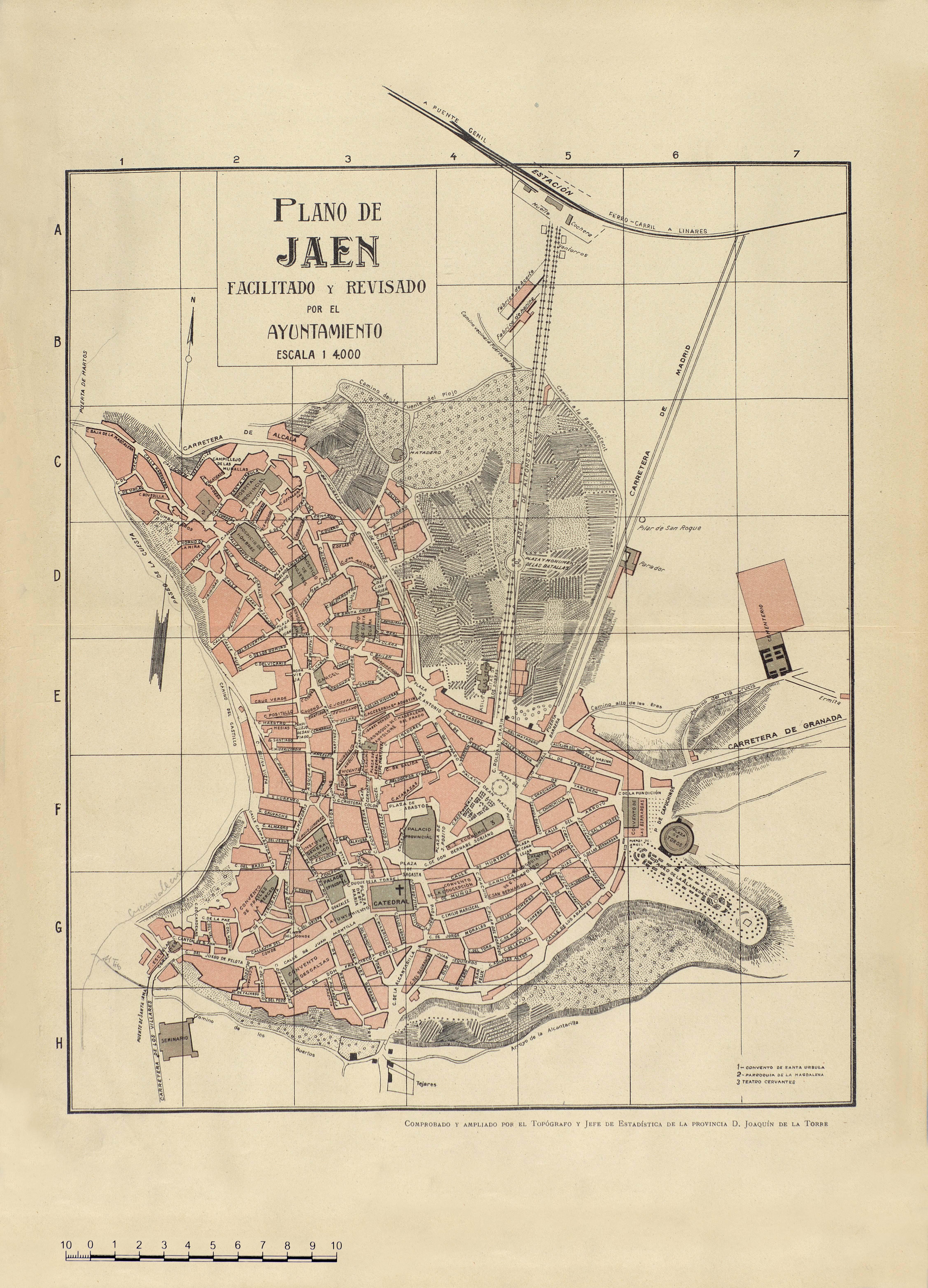 Plano de Jaén