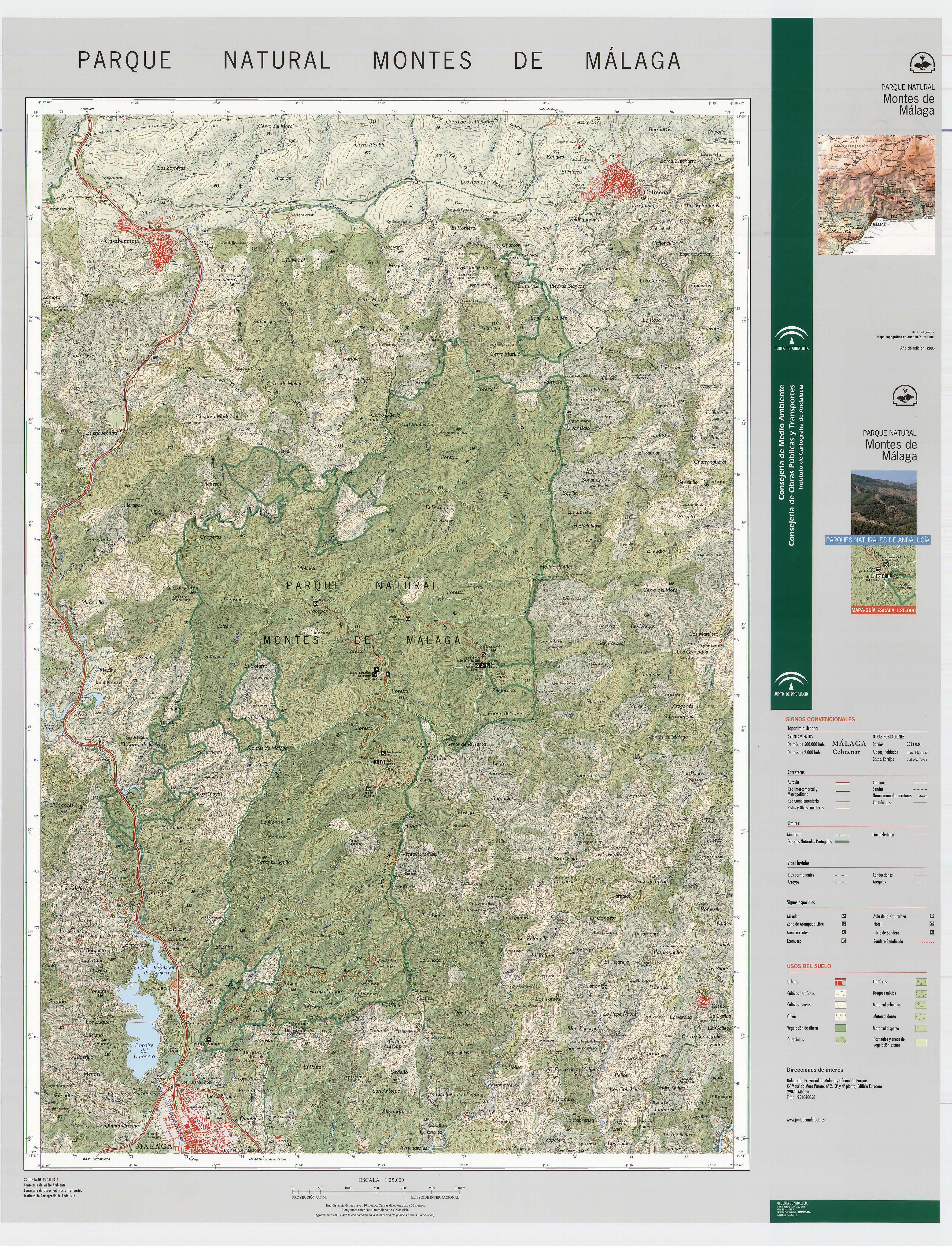 Montes de Malaga Natural Park 2005