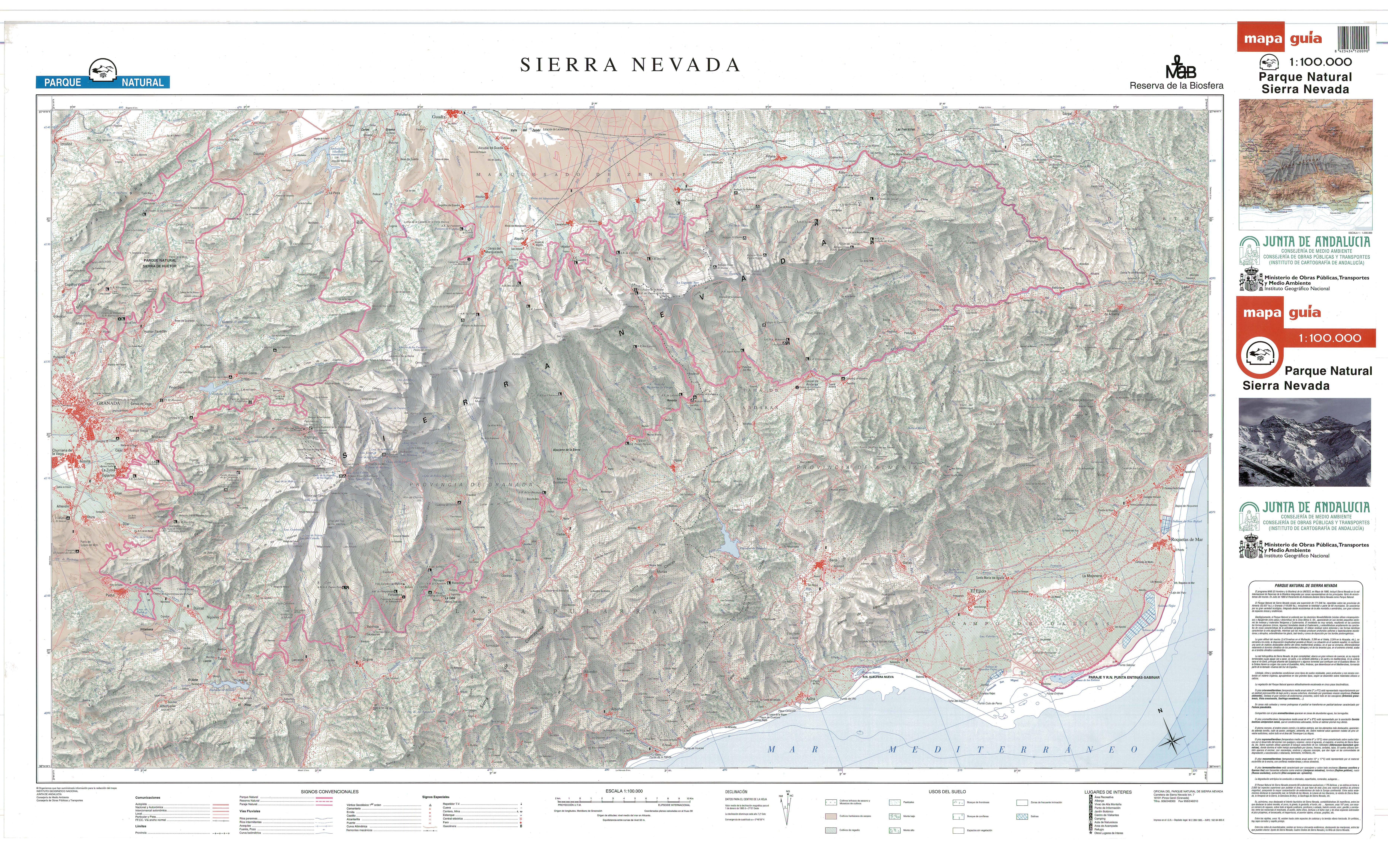 Parque Nacional de Sierra Nevada 1995