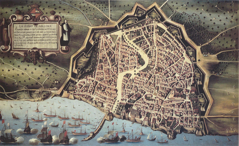 Palma de Mallorca siglo XVII