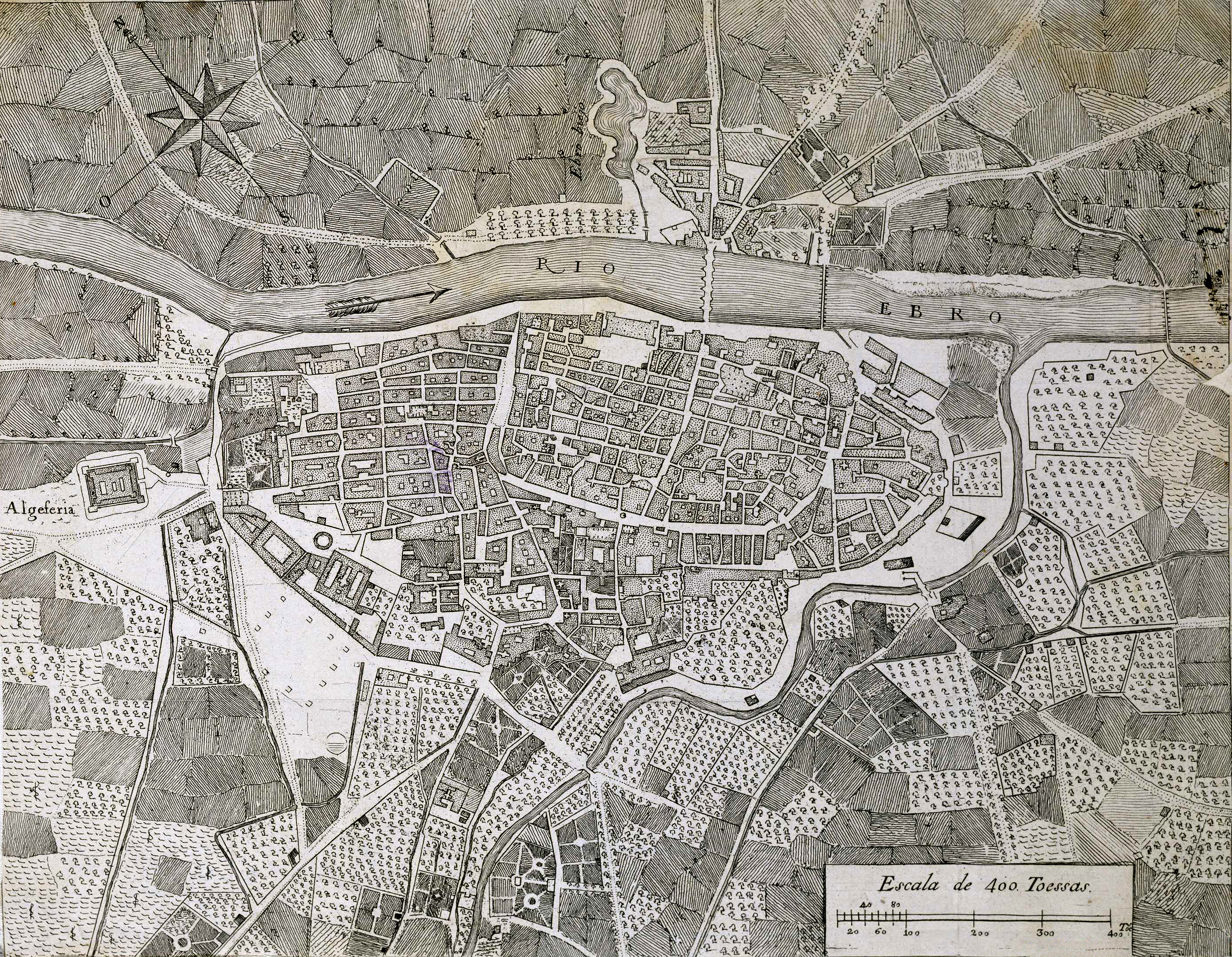 Zaragoza in the XVIII century