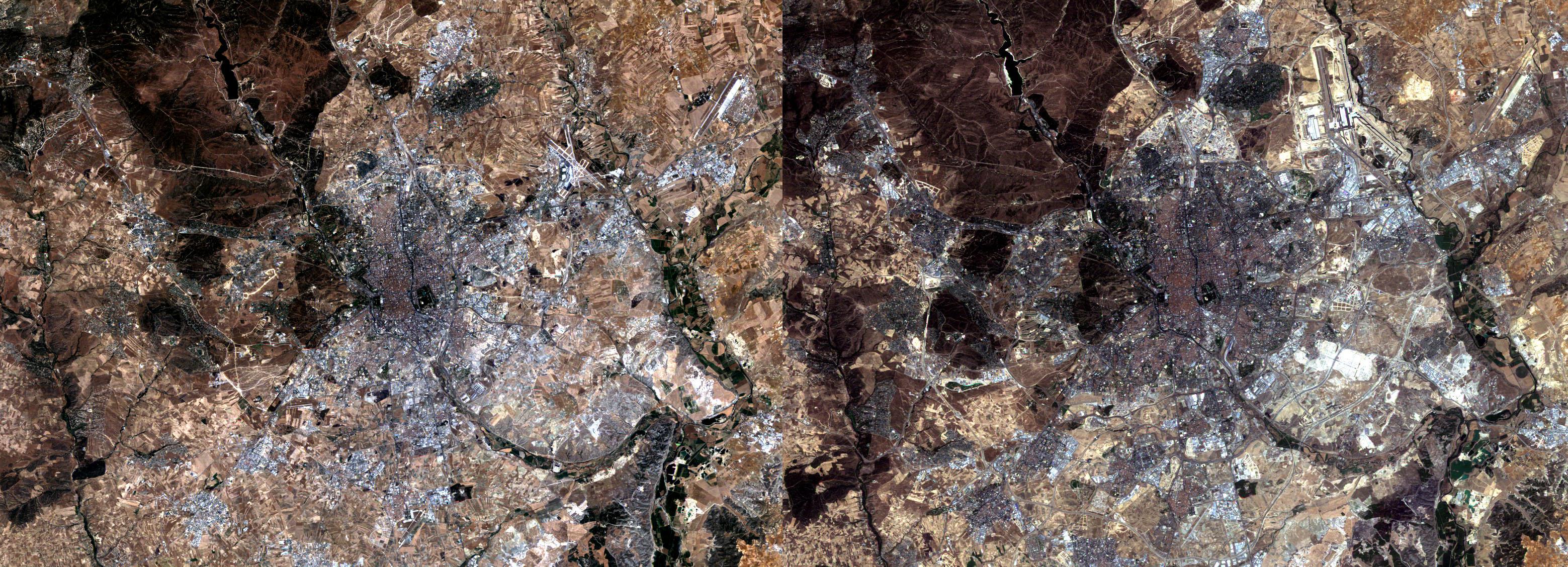 Madrid en 1984 y 2004