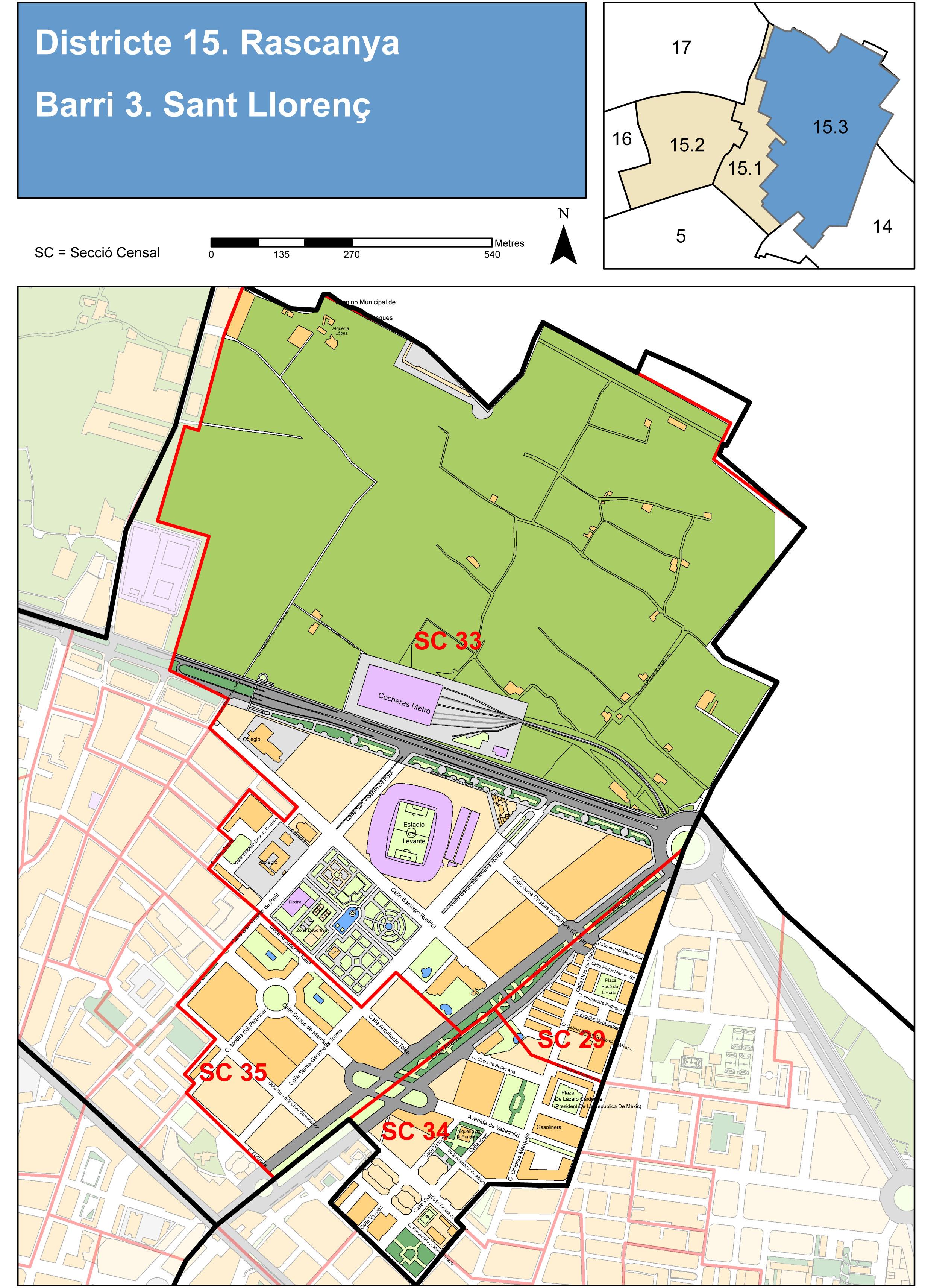 Neighborhood of Sant Llorenç, Valencia