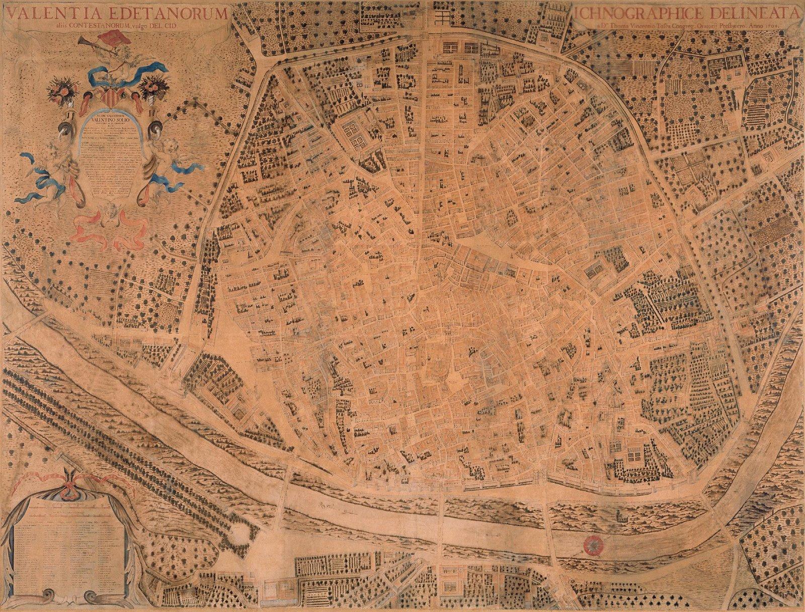 Valentia Edetanorum aliis Contestanorum, vulgo del Cid 1704
