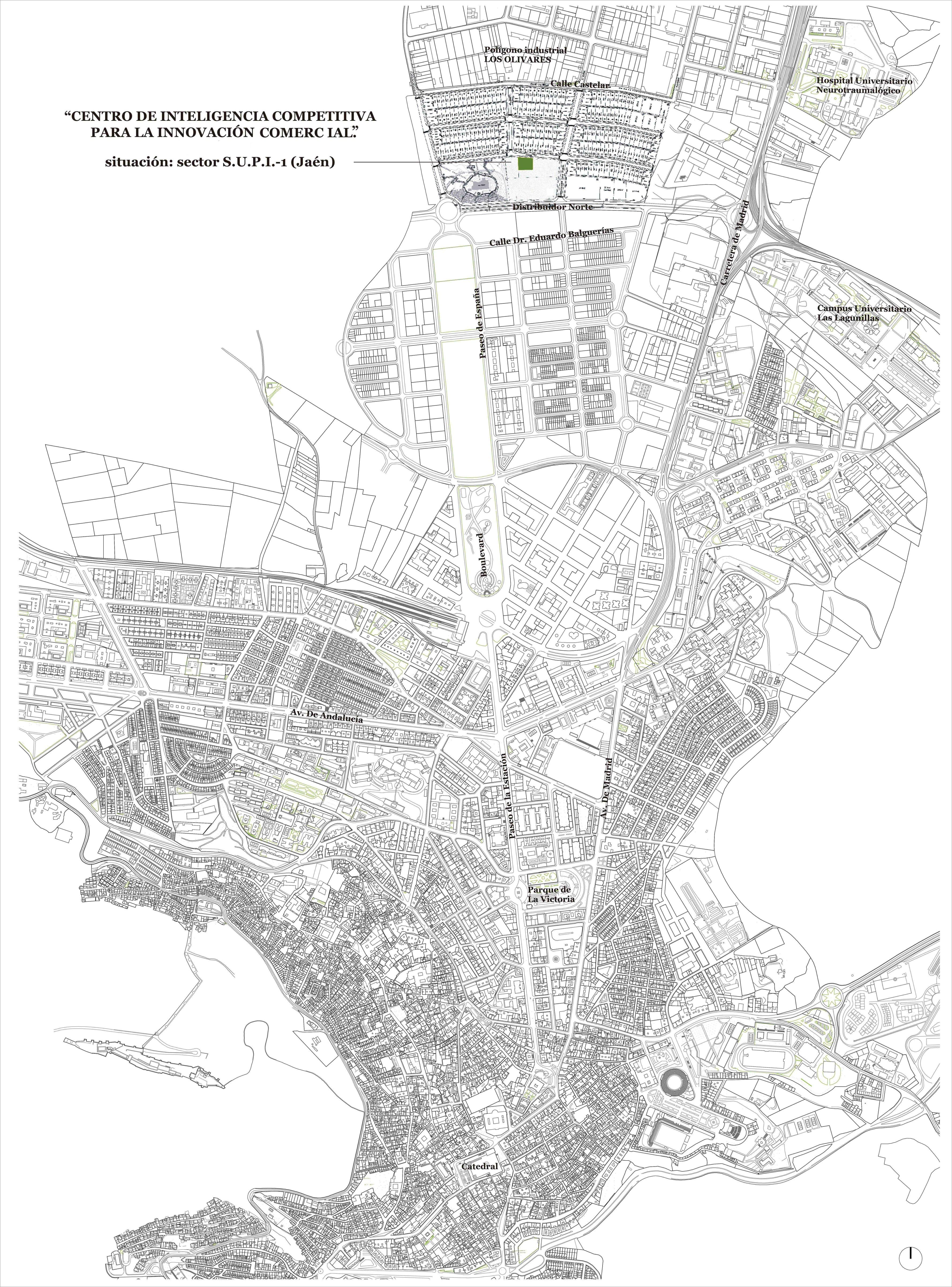 Jaén map