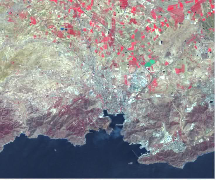 Mapa Satelital de Cartagena