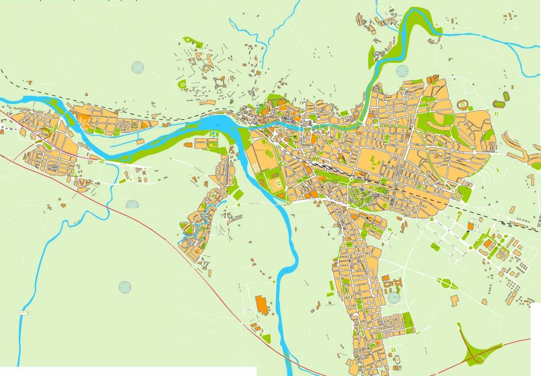 Girona map
