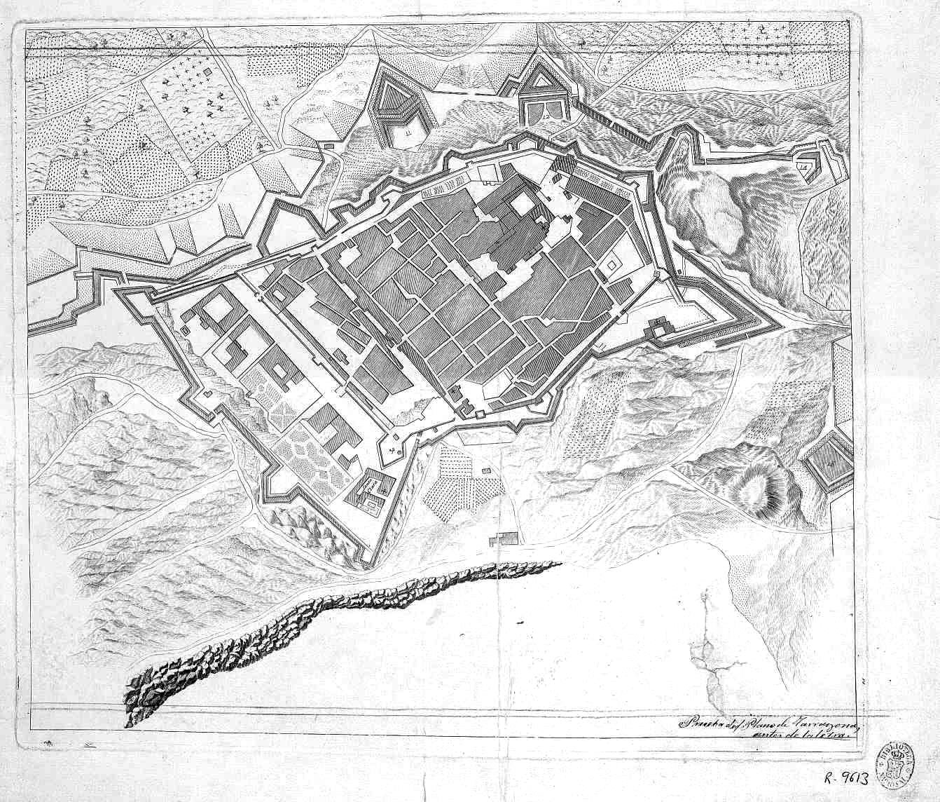 City of Tarragona 1811