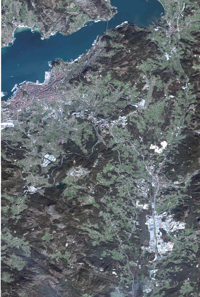 Satellite map of Vigo