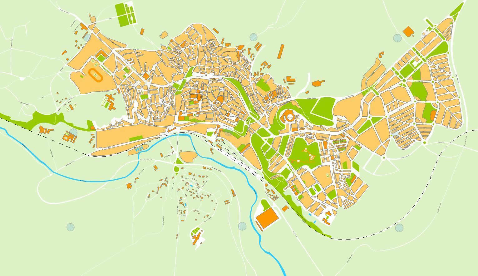 Teruel map