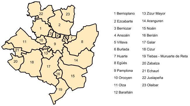 Pamplona metropolitan area