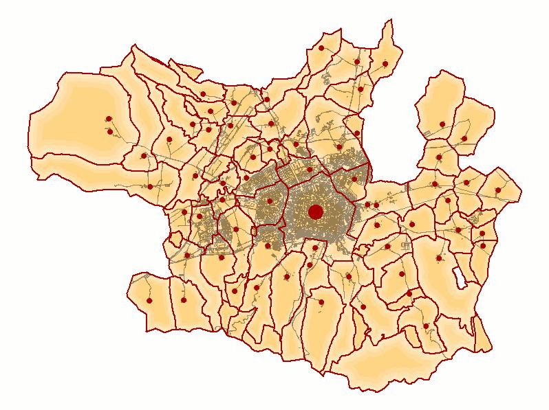 Concejos y ciudad de Vitoria 2008