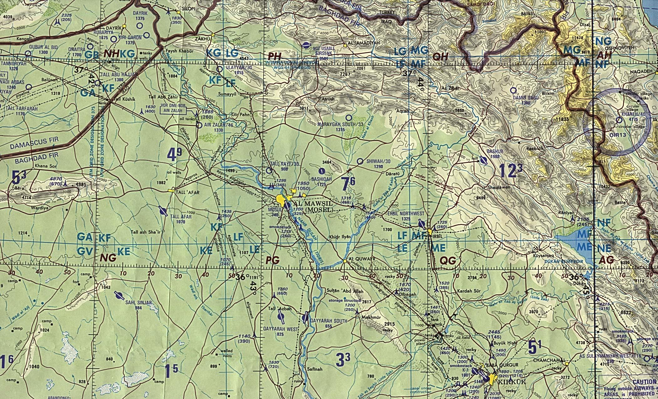 Northern Iraq 1990