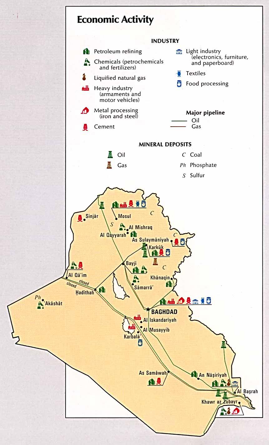 Iraq Economic Activity 1993