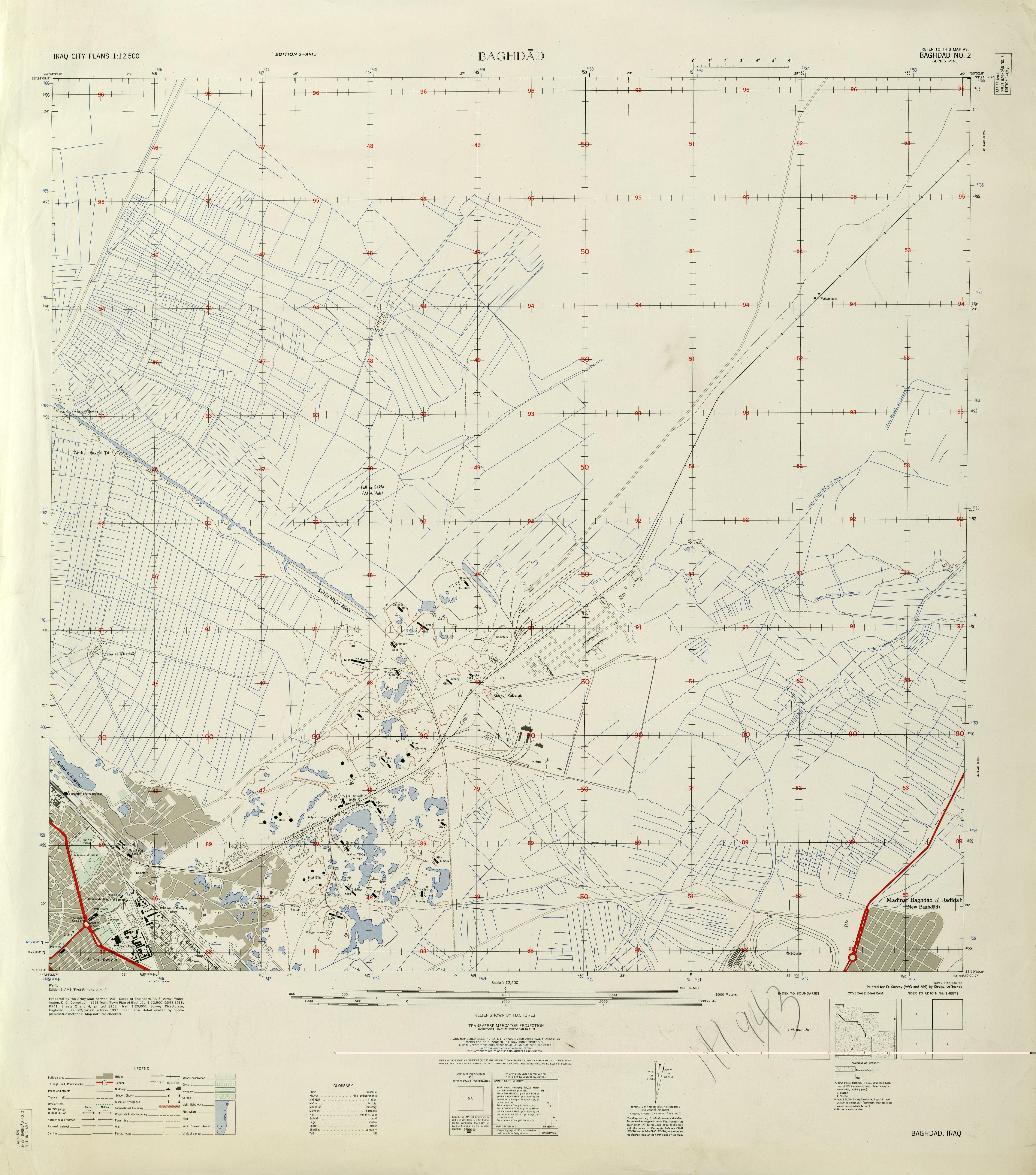 Noreste de Bagdad 1958