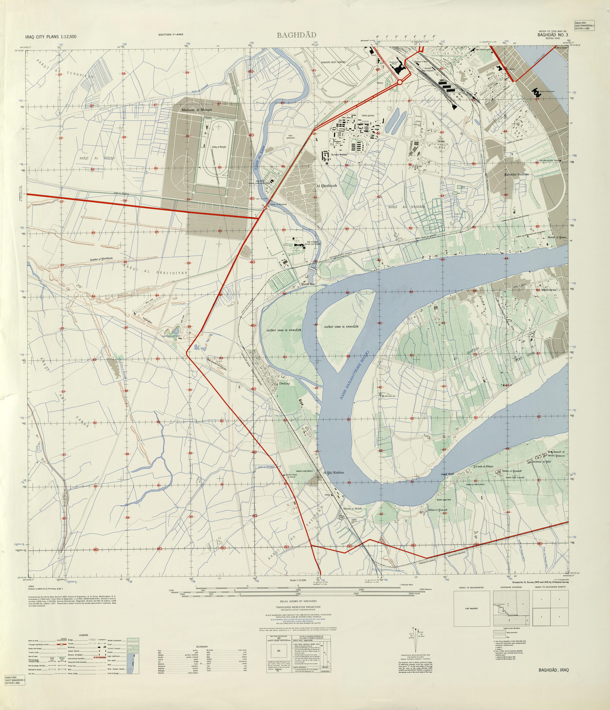 Southwest Baghdad 1958