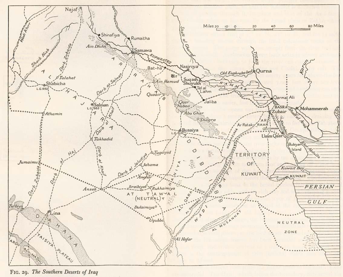 Southern Deserts of Iraq 1944