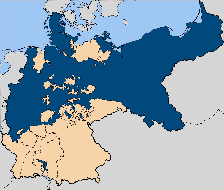 El Reino de Prusia en el Imperio Alemán