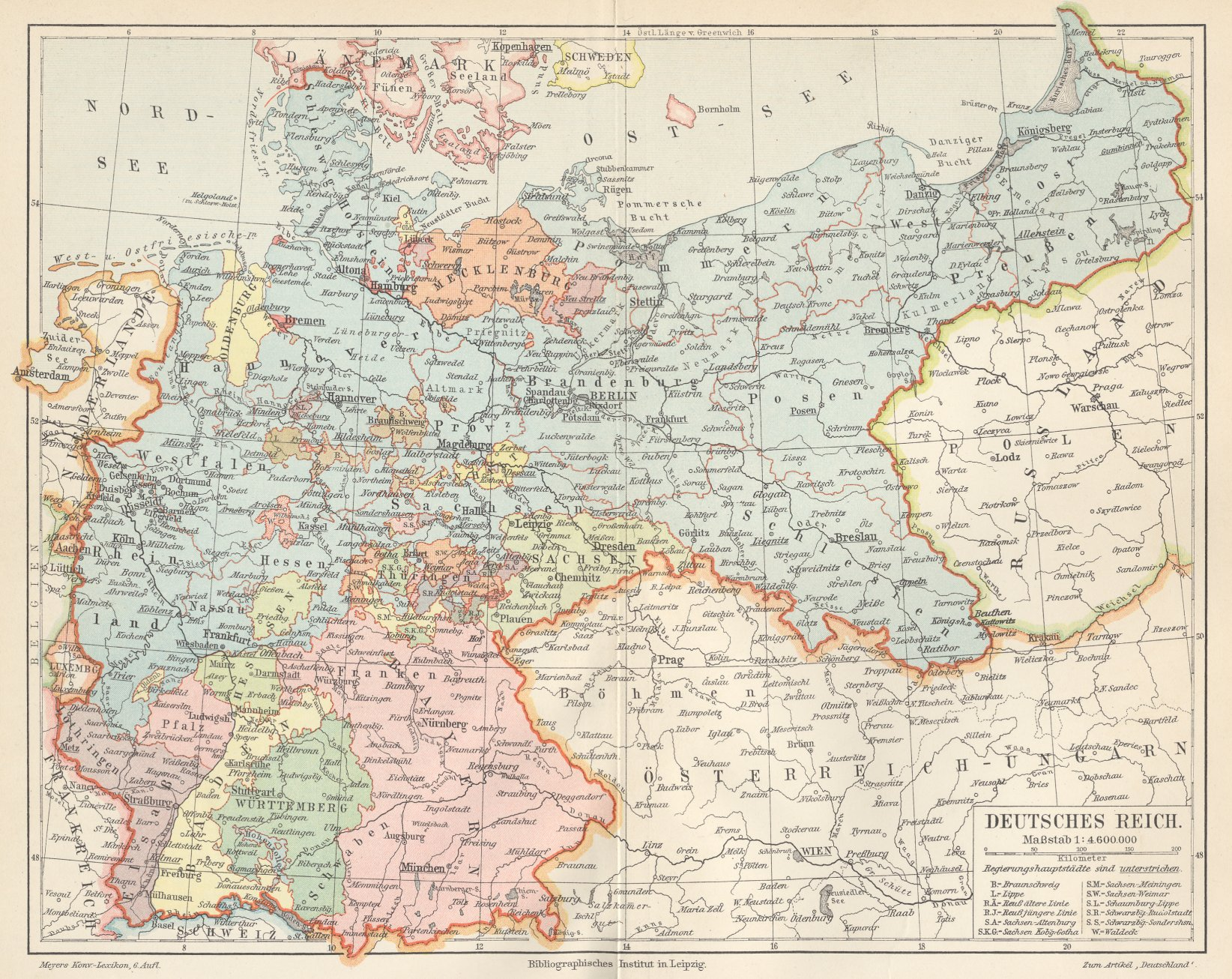 German Empire in 1900