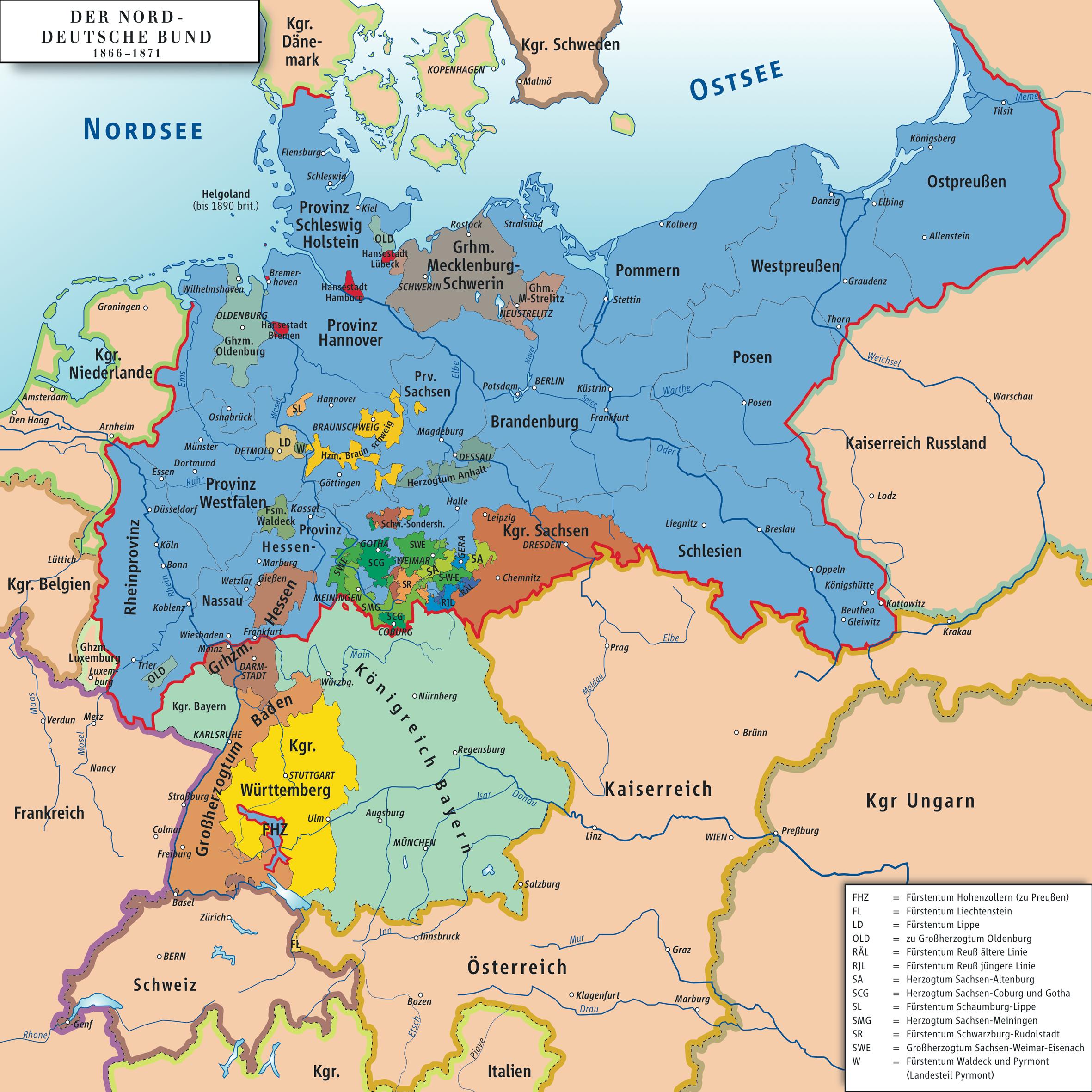 Confederación Alemana del Norte 1866–1871