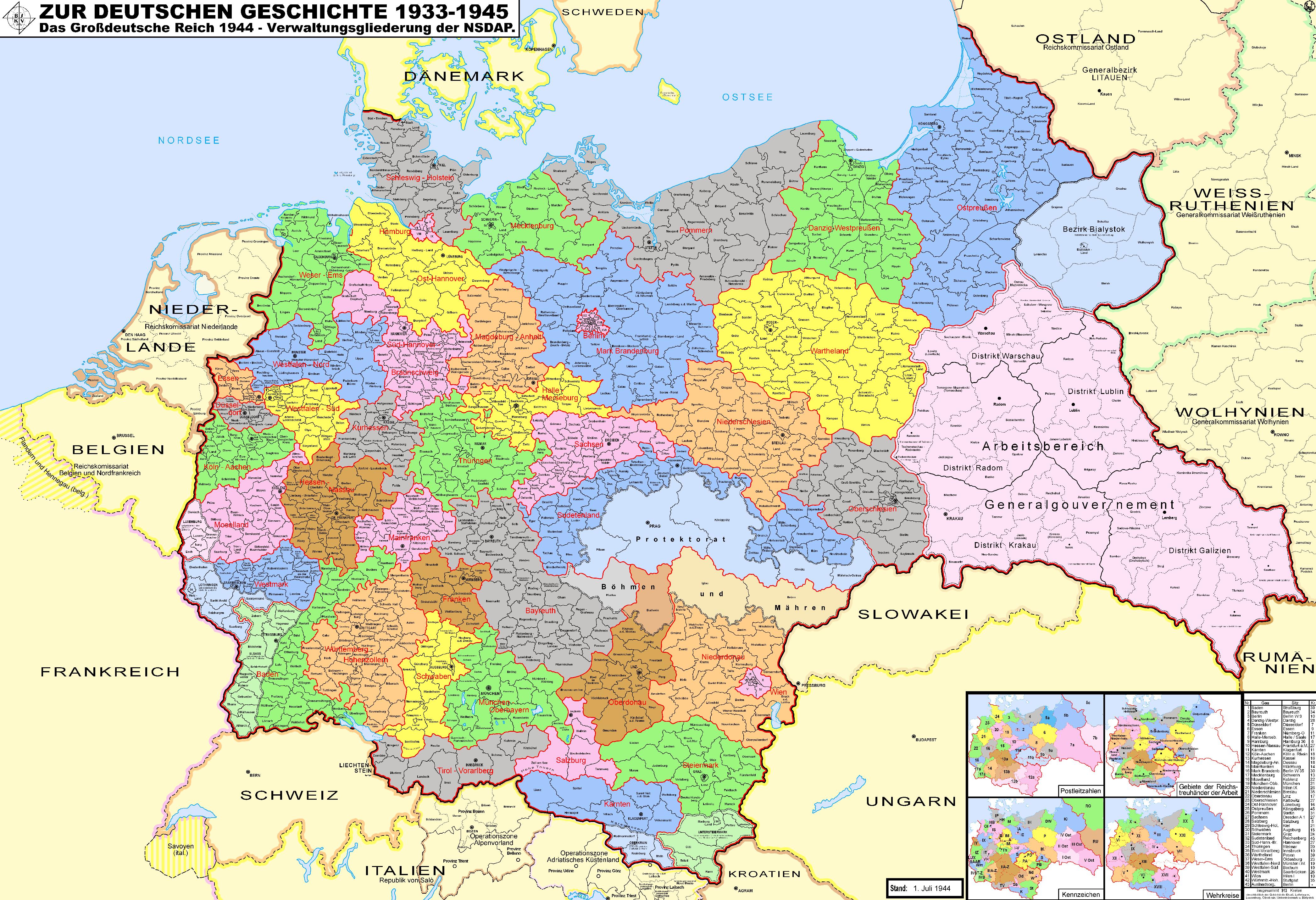 Tercer Reich 1944
